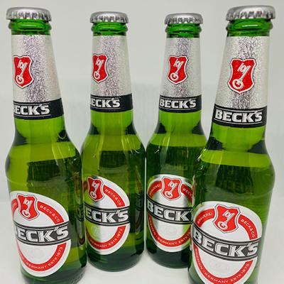 Becks Lager 275ml 4 bottles