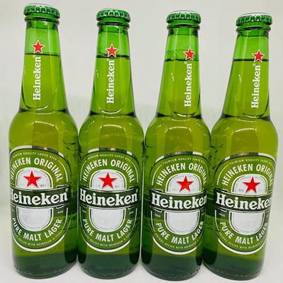 Heineken Lager 330ml 4 bottles